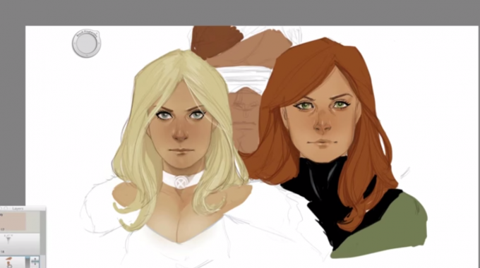 Phil Noto Drawing